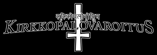 Kirkkopalovaroitus - Logo