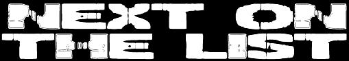 Next on the List - Logo