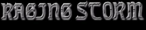 Raging Storm - Logo