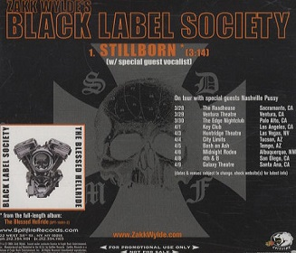 Black Label Society - Stillborn