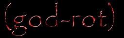 (god-rot) - Logo