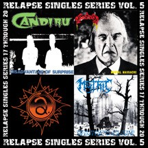 Mortician / Afflicted / Mythic - Relapse Singles Series Vol. 5