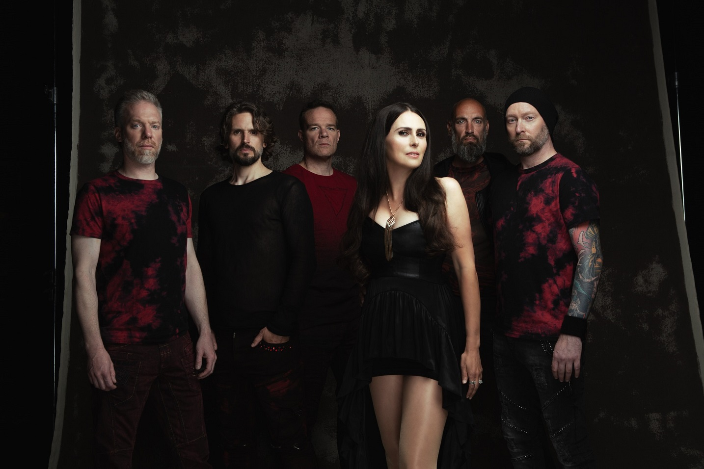 Within Temptation members (Click to see larger picture)