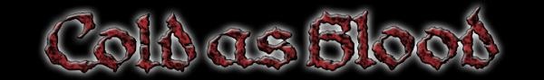 Cold as Blood - Logo