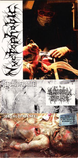 Nyctophobic / Entrails Massacre - Untitled / ¡Escalofriante!
