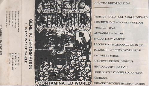 Genetic Deformation - Contaminated World