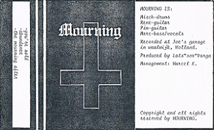 Mourning - Demo 1991