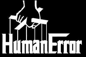 Human Error - Logo