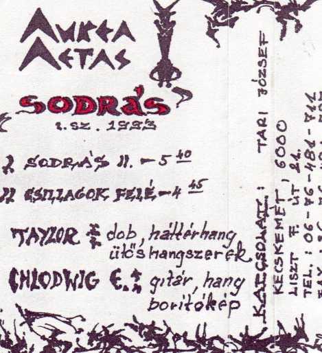 Aurea Aetas - Sodrás