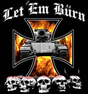 Let 'Em Burn - Logo