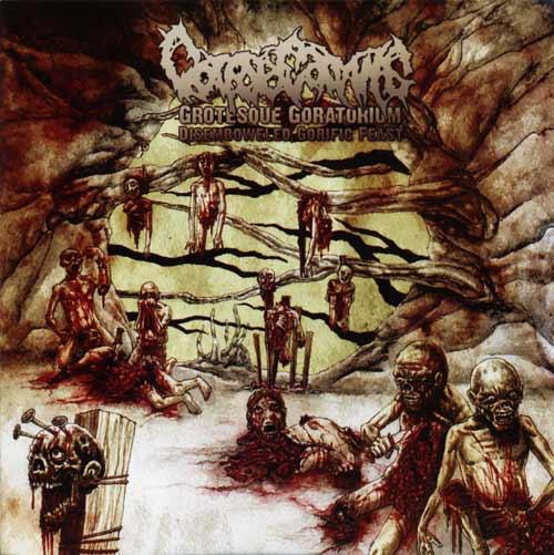 Corpse Carving - Grotesque Goratorium: Disemboweled Gorific Feast