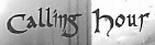 Calling Hour - Logo