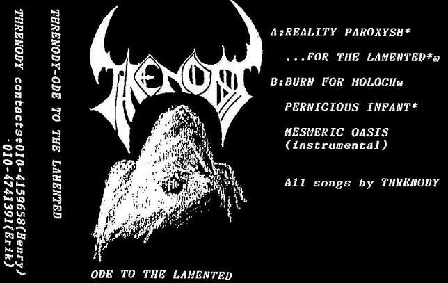 Threnody - Ode to the Lamented