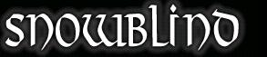 Snowblind - Logo