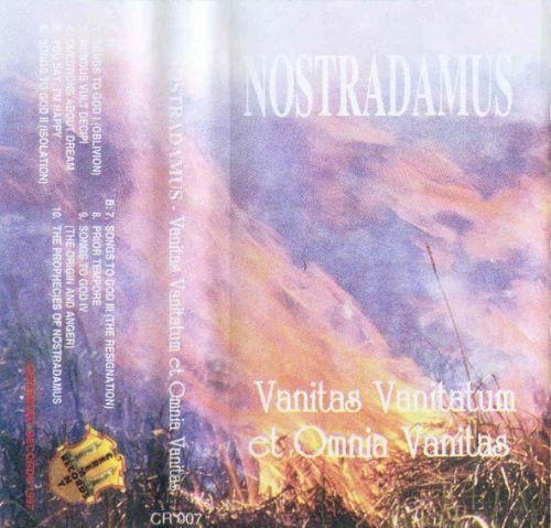 Nostradamus - Vanitas Vanitatum et Omnia Vanitas