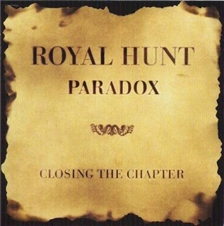 Royal Hunt - Paradox: Closing the Chapter