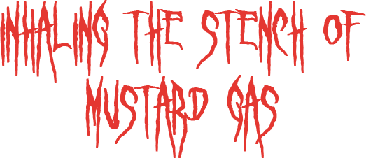 Inhaling the Stench of Mustard Gas - Logo