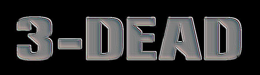 3-Dead - Logo