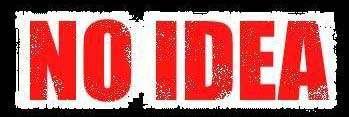 No Idea - Logo