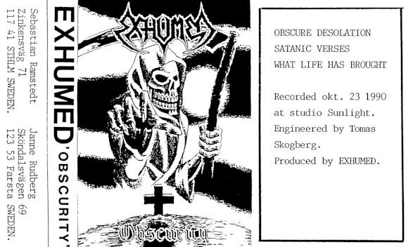 Exhumed - Obscurity