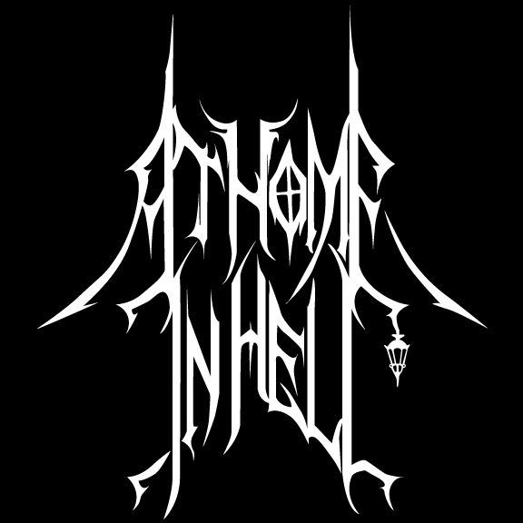 At Home in Hell - Logo