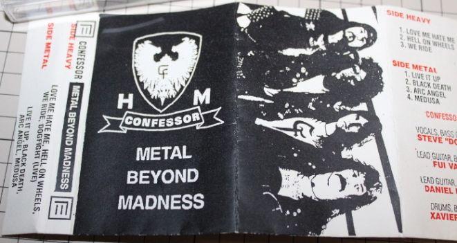 Confessor - Metal Beyond Madness