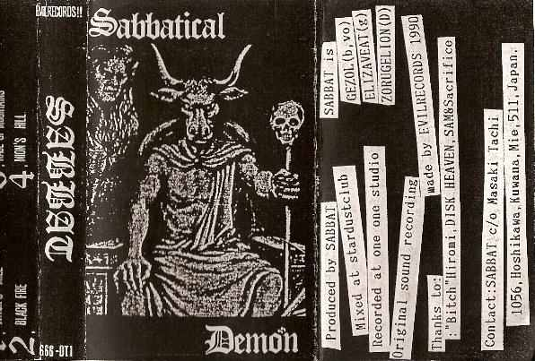 Sabbat - Sabbatical Demon