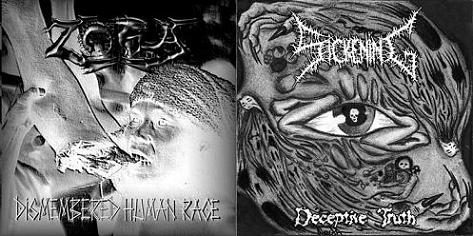 Zora / Sickening - Deceptive Truth / Dismembered Human Race