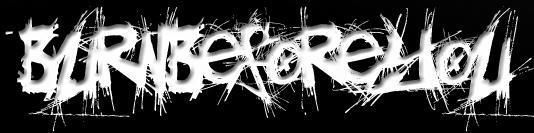 Burn Before You - Logo