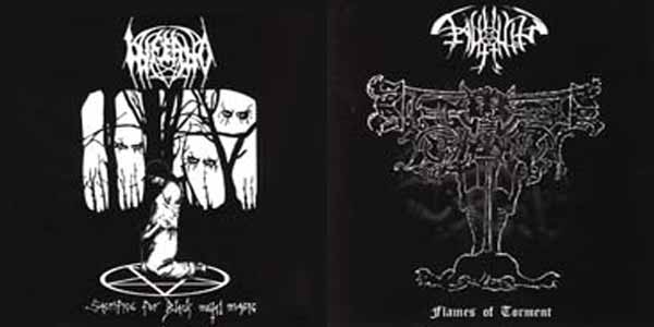 Inferno / Fagyhamu - Sacrifice for Black Metal Magic / Flames of Torment