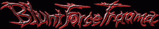Blunt Force Trauma - Logo