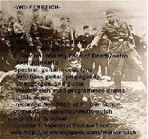 Wolfen Reich - Wolfen Reich