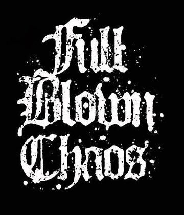 Full Blown Chaos - Logo