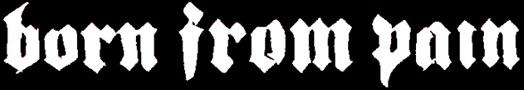 Born from Pain - Logo