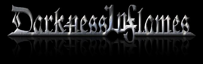 Darkness in Flames - Logo