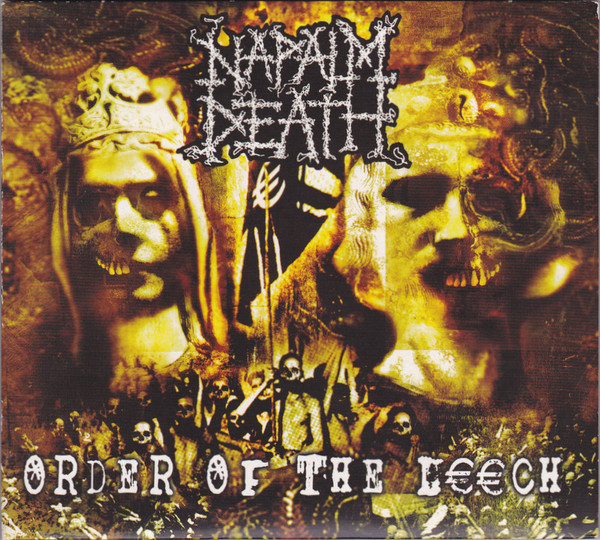 Napalm Death Order Of The Leech 2002 Vinyl Rip 24bit
