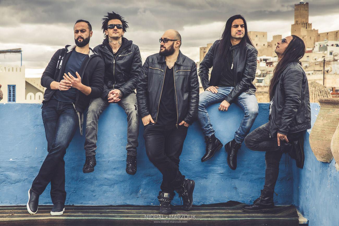 Band metal arab