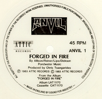 Anvil - Forged in Fire