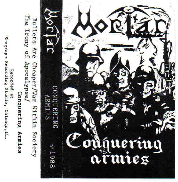 Mortar - Conquering Armies