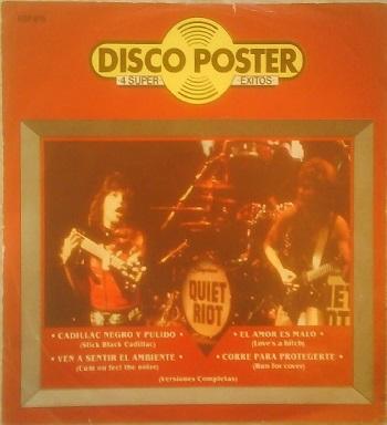 Quiet Riot - Disco Poster