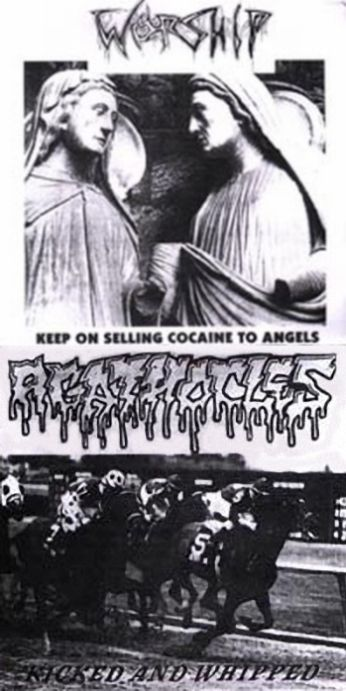 Agathocles / Worship - Kicked and Whipped / Keep on Selling Cocaine to Angels