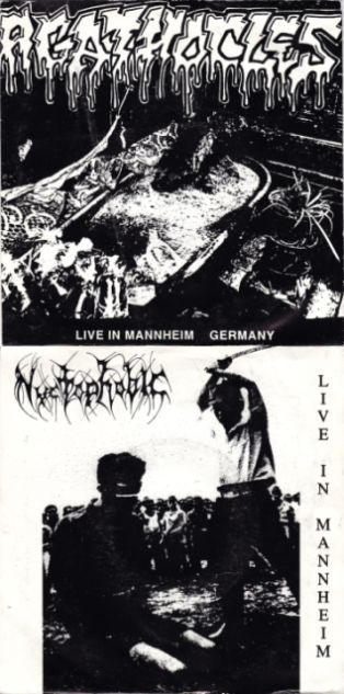Agathocles / Nyctophobic - Live in Mannheim Germany / Live in Mannheim