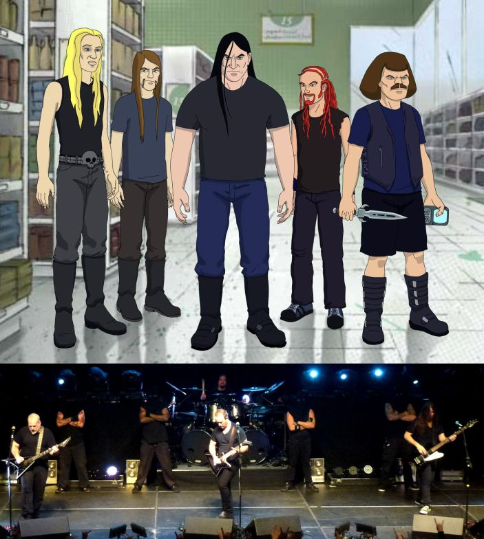 Dethklok - Photo
