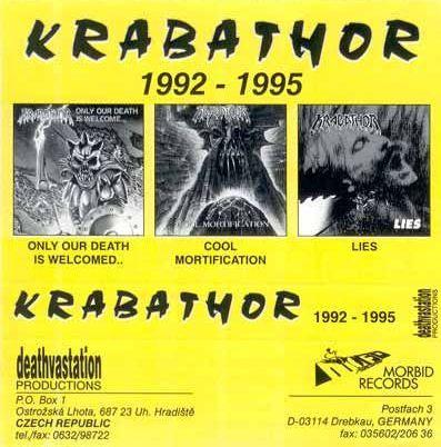 Krabathor - 1992-1995