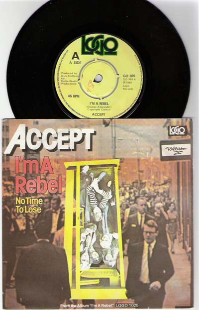 Accept - I'm a Rebel