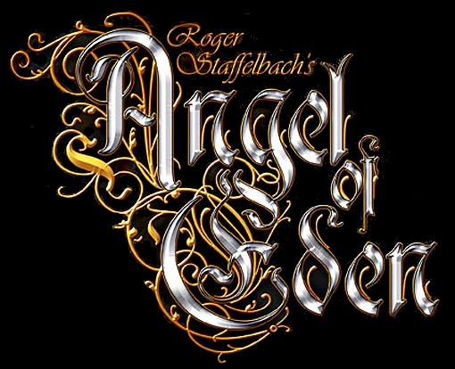 Roger Staffelbach's Angel of Eden - Logo