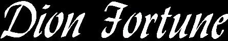 Dion Fortune - Logo