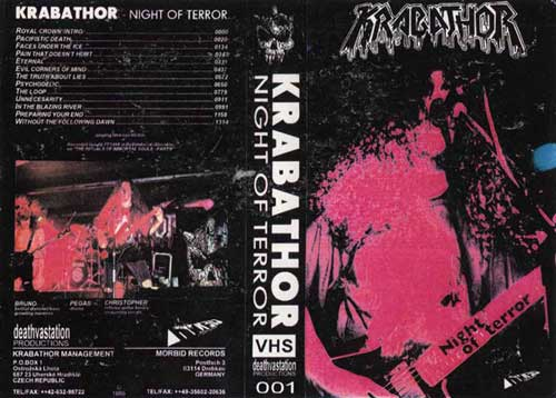 Krabathor - Night of Terror