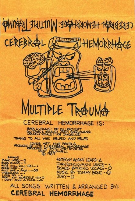 Cerebral Hemorrhage - Multiple Trauma