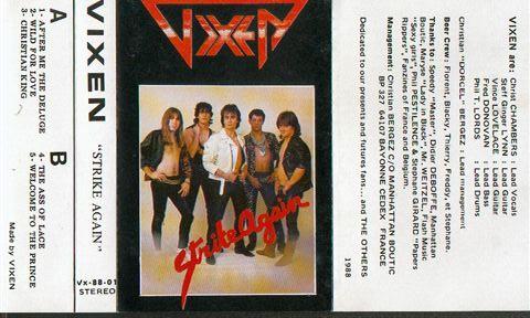 Vixen - Strike Again